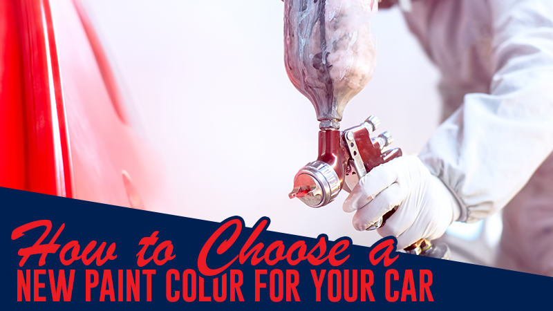 How to Choose a New Paint Color for Your Car