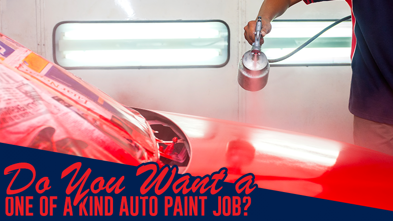 Do You Want to Have a One of a Kind Auto Paint Job?
